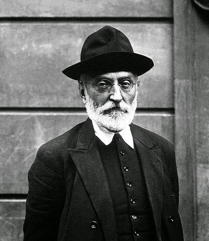 Miguel de Unamuno, en 1925