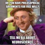 neurociencia libre albedrio filosofia
